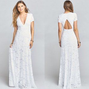 Show Me Your Mumu Lovers Lace Elenor Maxi Dress